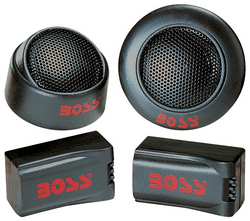 """Boss *TW15* 250W 1"""" Micro-Dome Tweeter w/ x-over (sold as pair)"""