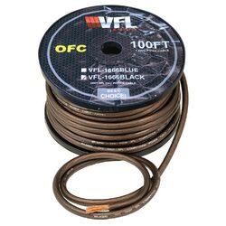 VFL Power Wire OFC 4 Gauge 100 Foot - Black