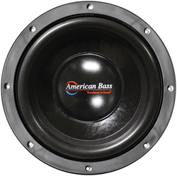 """American Bass 10"""" Woofer 450W RMS/900W Max Dual 4 Ohm Voice Coils"""