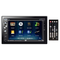 Dual Double Din 6.2 Inch LCD Screen DVD Bluetooth USB