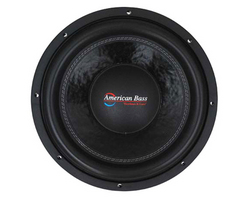 """American Bass 10"""" Woofer 1500W RMS/3000W Max Dual 2 Ohm Voice Coils"""