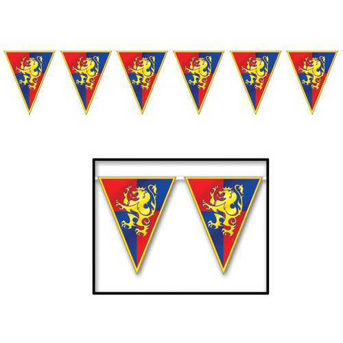 MEDIEVAL BANNER 11IN X 12FT