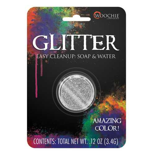 GLITTER SILVER 0.1 OZ CARDED