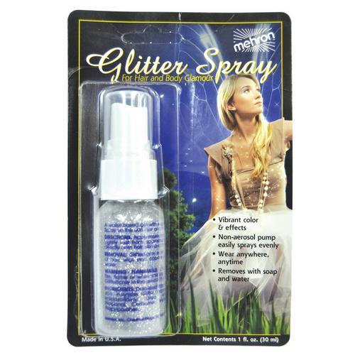 GLITTER SPRAY REAL SLVR 1OZ