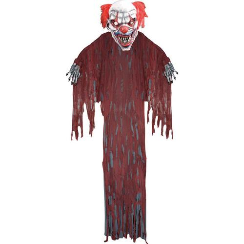 HANGING EVIL CLOWN 12 FT