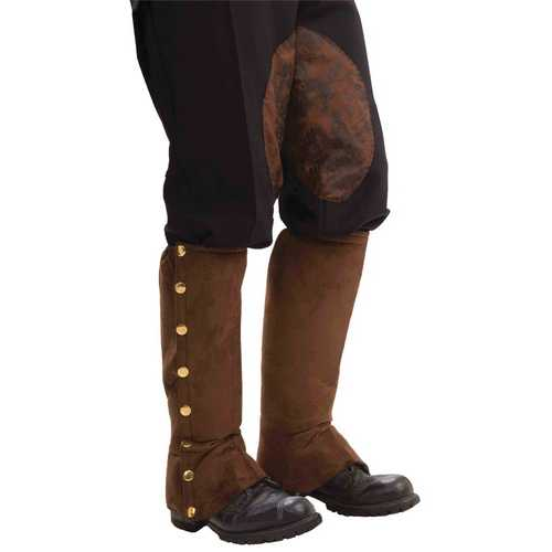 STEAMPUNK SPATS BROWN