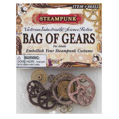 STEAMPUNK BAG OF GEARS