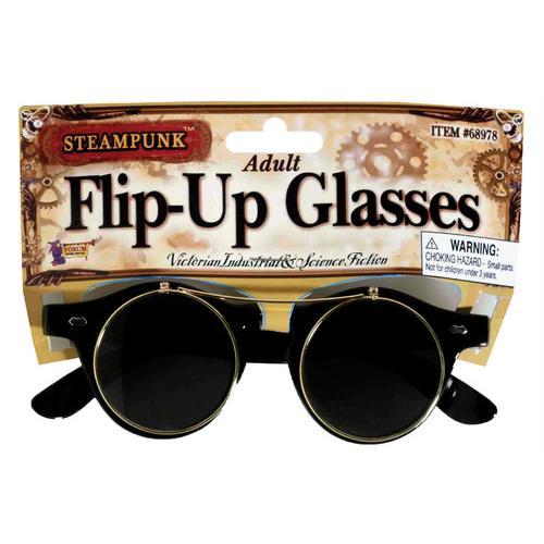 STEAMPUNK GLASSES FLIP-UP