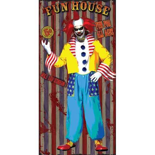 DOOR COVER FUN HOUSE