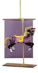 Category: Dropship Costumes & Props, SKU #VA270, Title: CAROUSEL HORSE MINI SPECIAL OR