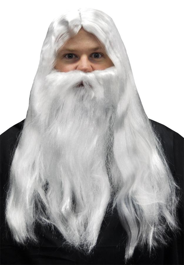 Merlin Beard Wig 21