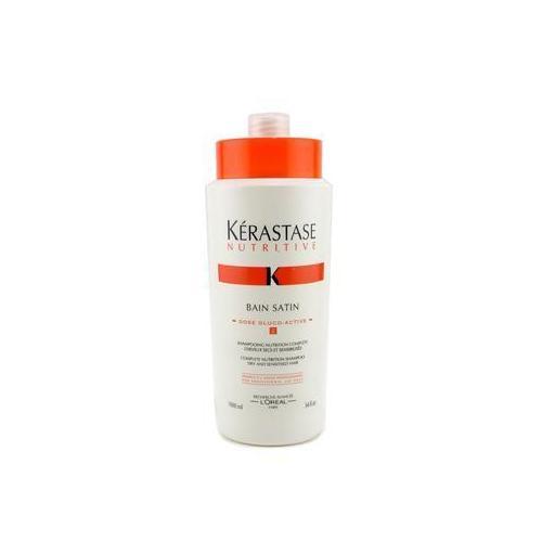 Kerastase Nutritive Bain Satin 2 Complete Nutrition Shampoo (For Dry & Sensitised Hair)  1000ml/34oz
