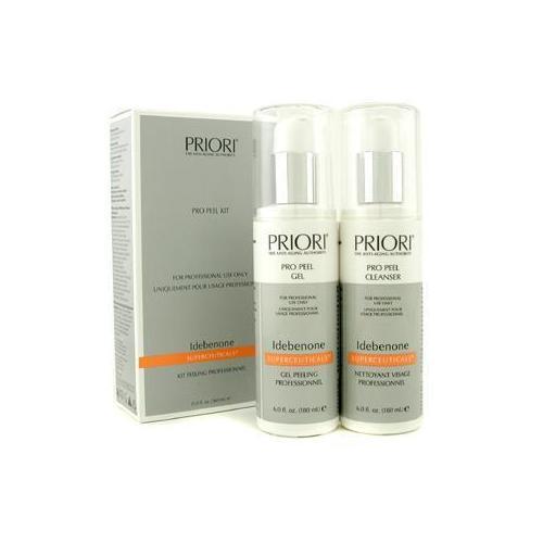Idebenone PRO Peel Kit (Salon Product) : Pro Peel Gel + Pro Peel Cleanser 2x180ml/6oz