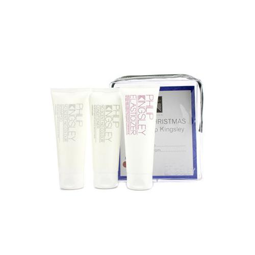 No Scent No Colour Jet Set: Shampoo 75ml + Conditioner 75ml + Elasticizer 75ml  3pcs