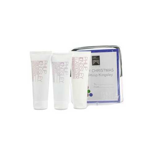 Pure Silver Jet Set: Shampoo 75ml + Conditioner 75ml + Elasticizer 75ml  3pcs