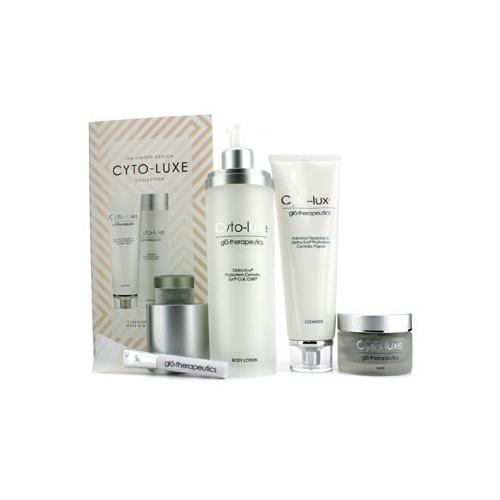 Cyto-Luxe Collection (Limited Edition): Body Lotion + Cleanser + Mask + Mask Applicator  4pcs
