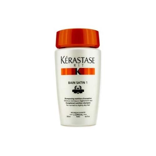 Nutritive Bain Satin 1 Exceptional Nutrition Shampoo (For Normal to Slightly Dry Hair)  250ml/8.5oz