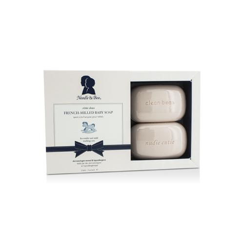 French-Milled Baby Soap 2bars /3oz each