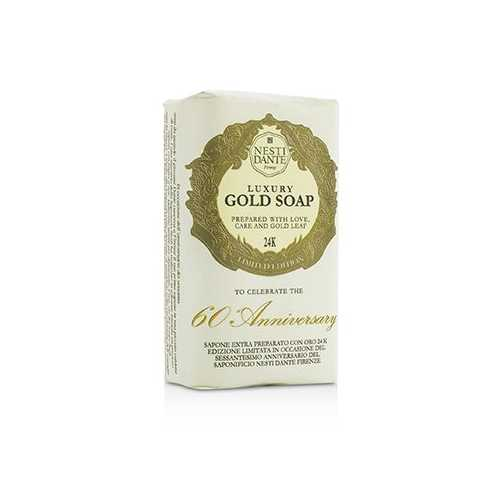 60 Anniversary Luxury Gold Soap With Gold Leaf (Limited Edition)  250g/8.8oz