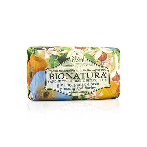 Bio Natura Sustainable Vegetal Soap - Ginseng & Barley  250g/8.8oz