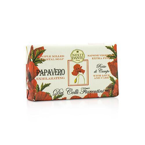 Dei Colli Fiorentini Triple Milled Vegetal Soap - Poppy 250g/8.8oz