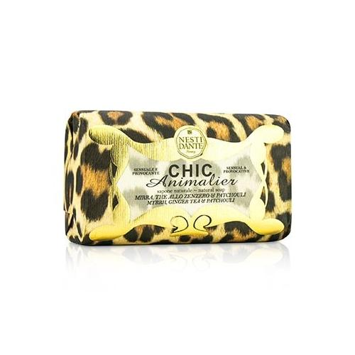 Chic Animalier Natural Soap - Myrrh, Ginger Tea & Patchouli  250g/8.8oz
