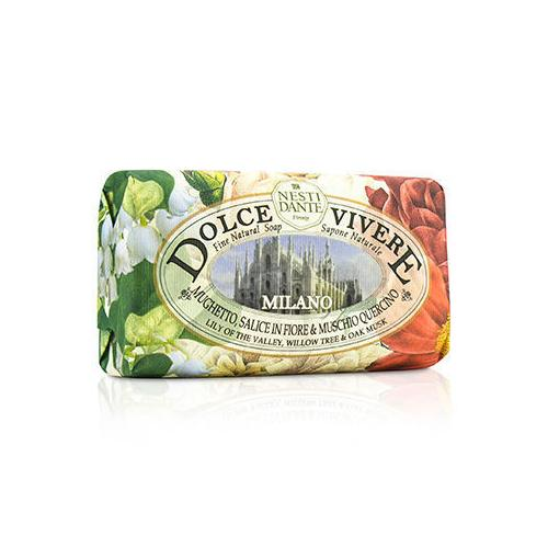 Dolce Vivere Fine Natural Soap - Milano - Lily Of The Valley, Willow Tree & Oak Musk  250g/8.8oz