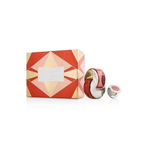 Omnia Coral Coffret: Eau De Toilette Spray 65ml/2.2oz + Solid Perfume 1g/0.03oz 2pcs