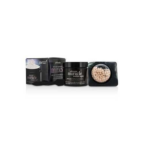 Ultimate Miracle Worker Night: Night Cream 50ml/1.7oz + Night Serum 10ml/0.34oz  2pcs