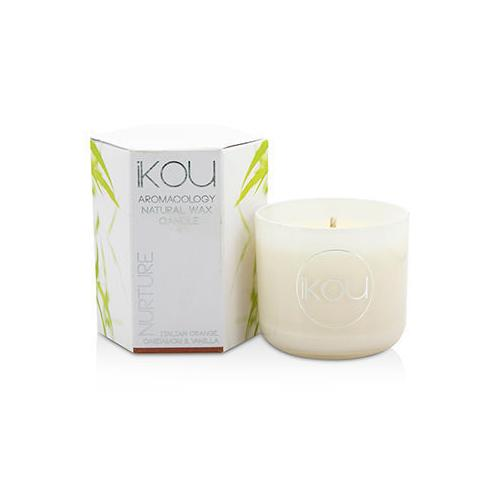 Eco-Luxury Aromacology Natural Wax Candle Glass - Nurture (Italian Orange Cardamom & Vanilla) (2x2) inch