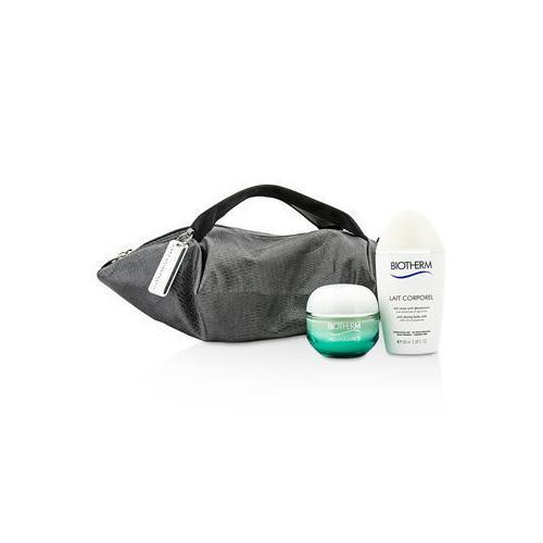 Aquasource & Body Care X Mandarina Duck Coffret: Cream N/C 50ml + Anti-Drying Body Care 100ml + Handle Bag  2pcs+1bag