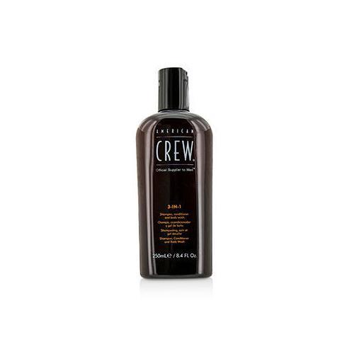 Men Classic 3-IN-1 Shampoo, Conditioner & Body Wash 250ml/8.4oz