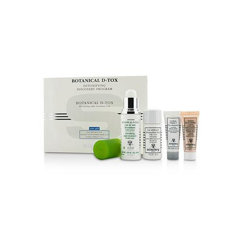 Botanical D-Tox Detoxifying Discovery Program: Botanical D-Tox 30ml + Make-Up Remover 30ml + Mask 10ml + Pore Minimizer 10ml 4pcs
