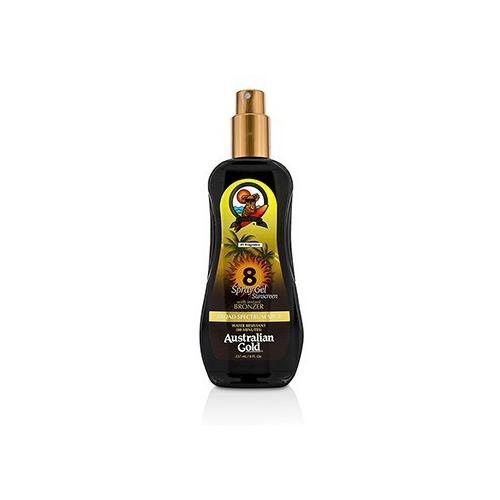 Spray Gel Sunscreen Broad Spectrum SPF 8 with Instant Bronzer 237ml/8oz