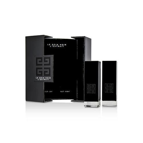 Le Soin Noir L'Extrait: L'Extrait Day Serum 15ml/0.5oz + L'Extrait Night Serum 15ml/0.5oz  2pcs