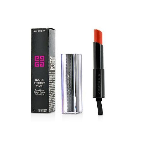 Rouge Interdit Vinyl Extreme Shine Lipstick - # 08 Orange Magnetique  3.3g/0.11oz