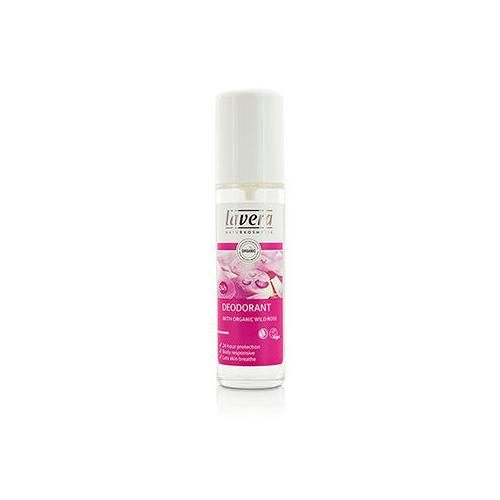 24h Organic Wild Rose Deodorant Spray  75ml/2.5oz