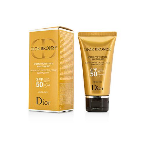 Dior Bronze Beautifying Protective Creme Sublime Glow SPF 50 For Face 50ml/1.8oz