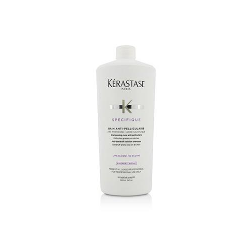 Specifique Bain Anti-Pelliculaire Anti-Dandruff Solution Shampoo (Dandruff-Prone Oily or Dry Hair)  1000ml/34oz