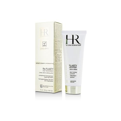 Re-Plasty Age Recovery Complexion Homogenizer Repairing Cream SPF 10- For Hand, Neck & Decollete  75ml/2.65oz
