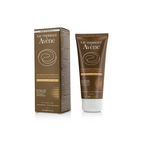Moisturizing Self-Tanning Silky Gel For Face & Body - For Sensitive Skin  100ml/3.3oz
