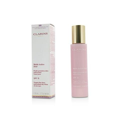 Multi-Active Day Targets Fine Lines Antioxidant Day Lotion - For All Skin Types  50ml/1.7oz