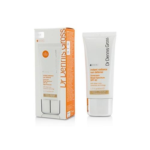 Instant Radiance Sun Defense Sunscreen SPF 40 - Light-Medium 50ml/1.7oz