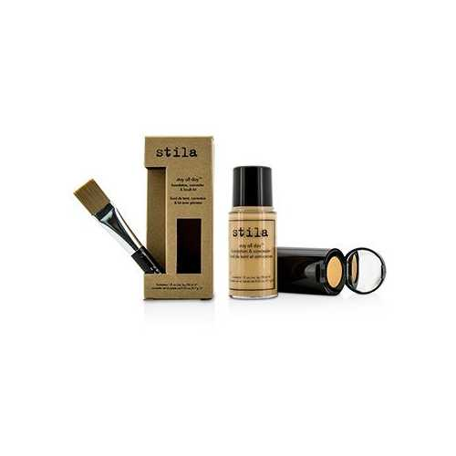 Stay All Day Foundation, Concealer & Brush Kit - # 7 Buff  2pcs