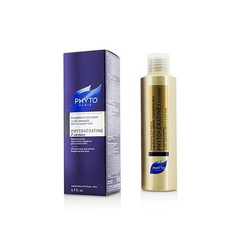 Phytokeratine Extreme Exceptional Shampoo (Ultra-Damaged, Brittle & Dry Hair)  200ml/6.7oz