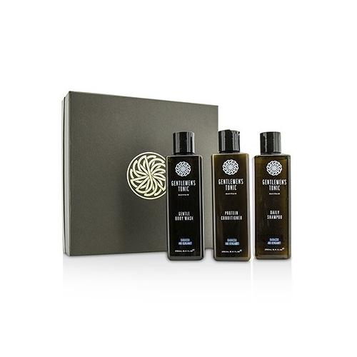 Shower Gift Set: Gentle Body Wash 250ml + Daily Shampoo 250ml + Protein Conditioner 250ml  3pcs
