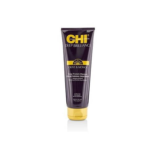 Deep Brilliance Olive & Monoi Deep Protein Masque Strengthening Treatment  237ml/8oz