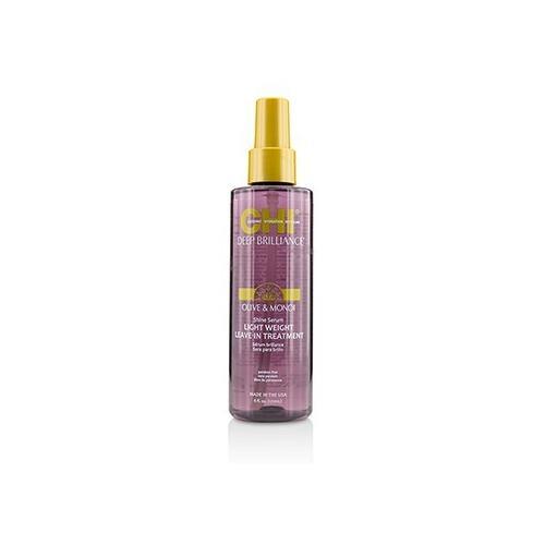 Deep Brilliance Olive & Monoi Shine Serum Light Weight Leave-In Treatment  178ml/6oz