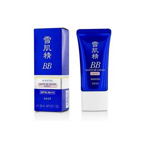 Sekkisei White BB Cream Moist SPF40 PA+++ - # 01 Light Ochre 28ml/1oz