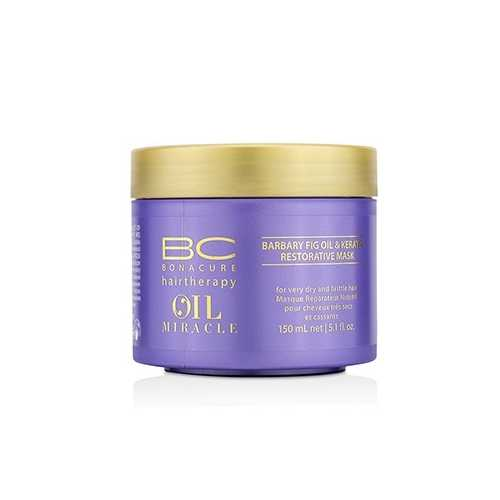 BC Oil Miracle Barbary Fig Oil & Keratin Restorative Mask (For Very Dry and Brittle Hair) 150ml/5.1oz